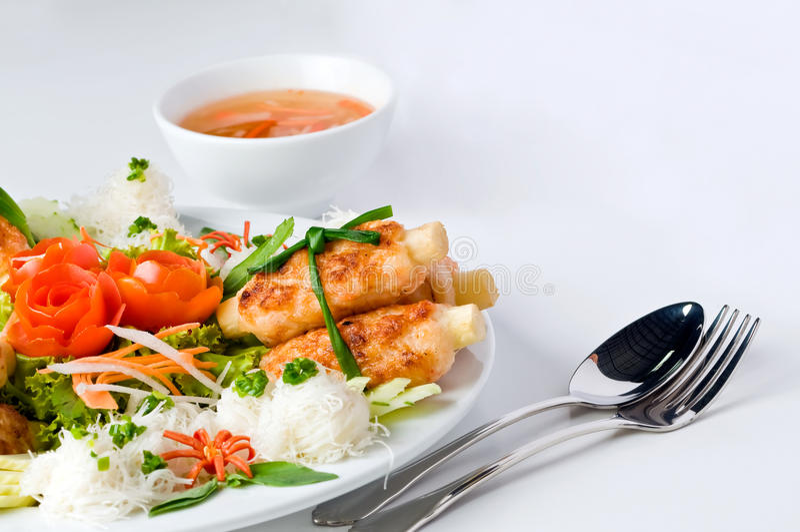 Alimento de Vietnam. imagens de stock