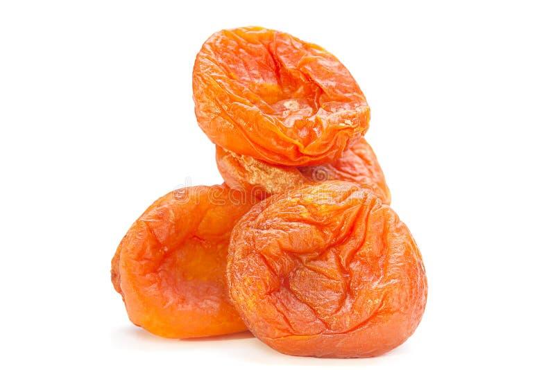 Alimento del dolce della frutta dell'albicocca secca fotografia stock libera da diritti