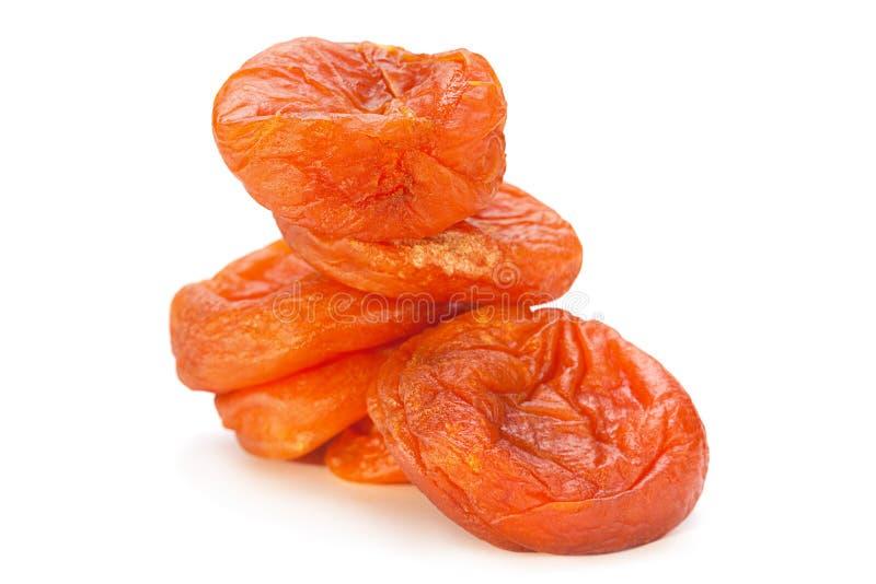 Alimento del dolce della frutta dell'albicocca secca immagine stock