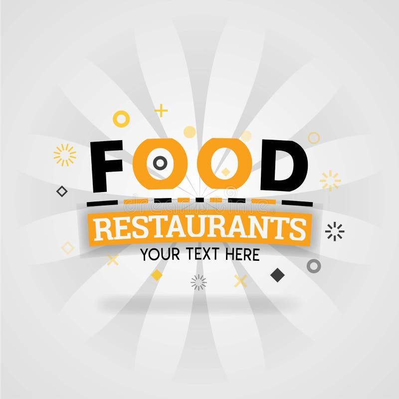 Alimento del ristorante del menu del libro della copertura con le ricette spagnole dell'alimento e la cucina facile royalty illustrazione gratis