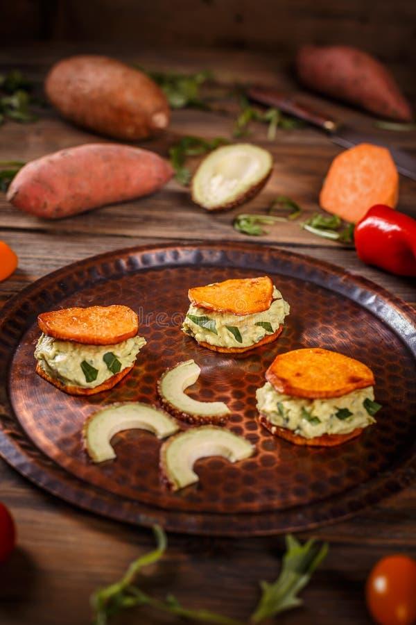 Alimento delicioso do vegetariano fotos de stock