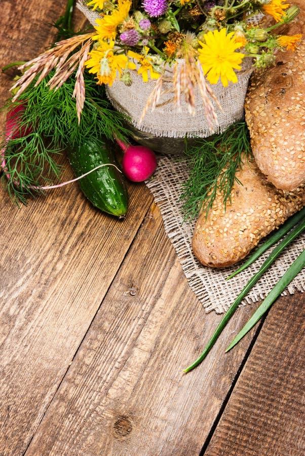 Alimento di agricoltura biologica fotografie stock