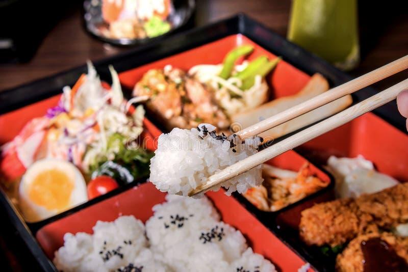 Alimento di Bento Giappone immagine stock