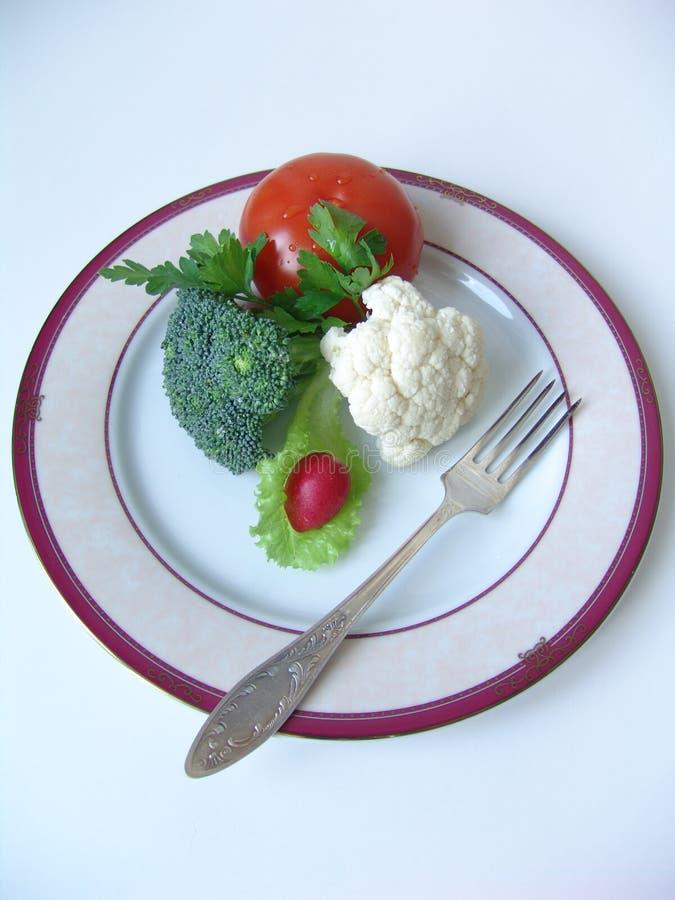 Alimento di dieta fotografia stock