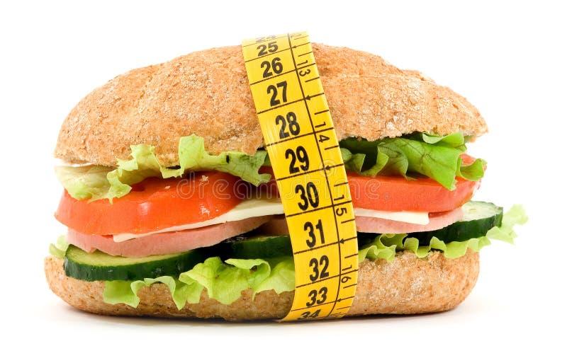 Alimento di dieta immagini stock libere da diritti