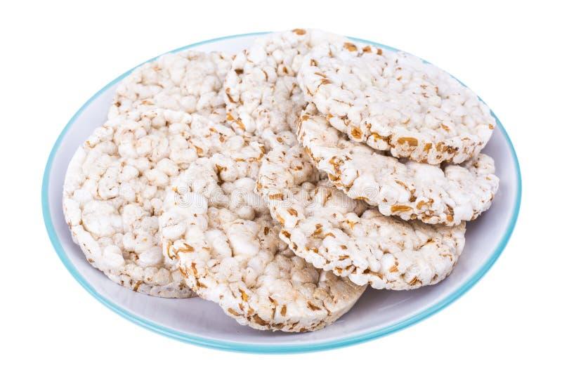 Alimento di dieta sana Biscotti del grano intero immagine stock