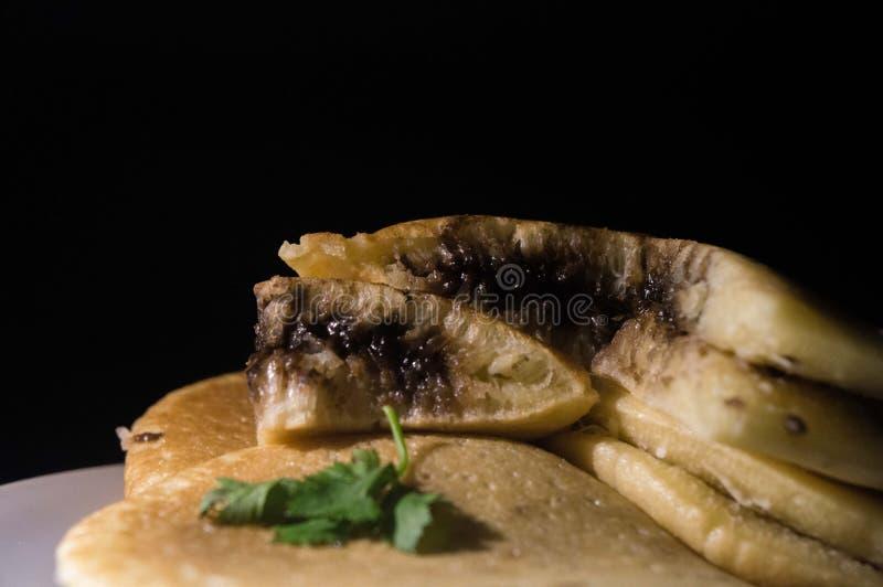 Alimento di Dorayaki immagine stock