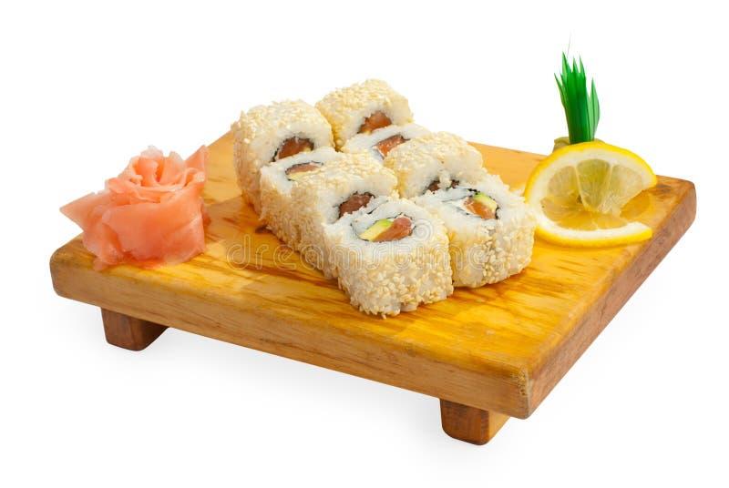 Alimento di trditional del Giappone - rullo immagini stock
