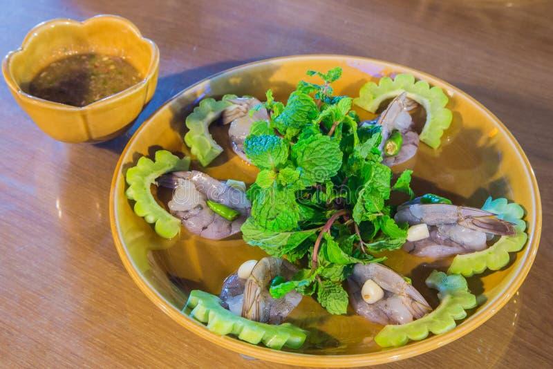 Alimento do camarão fotos de stock royalty free
