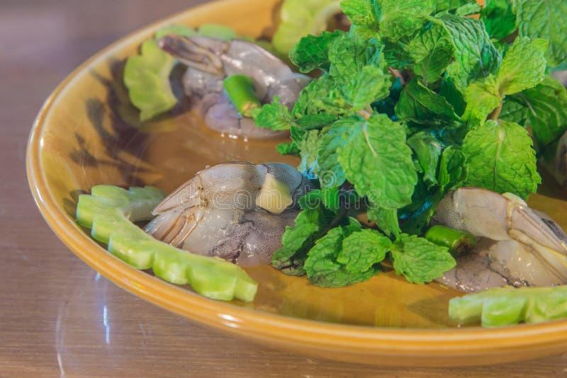 Alimento do camarão fotos de stock