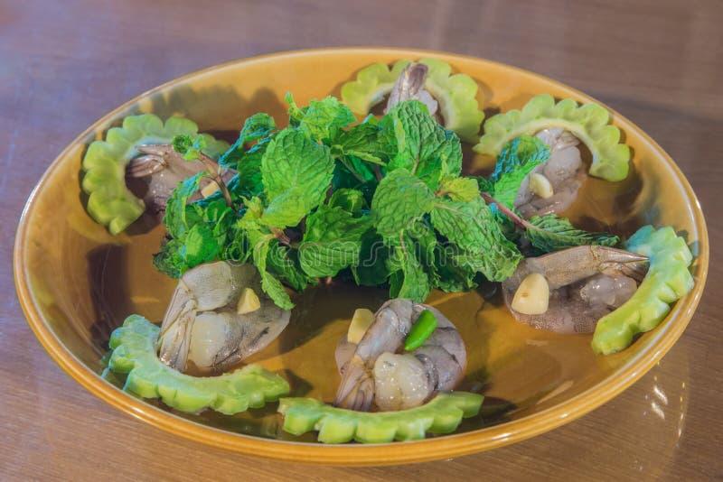 Alimento do camarão fotografia de stock royalty free