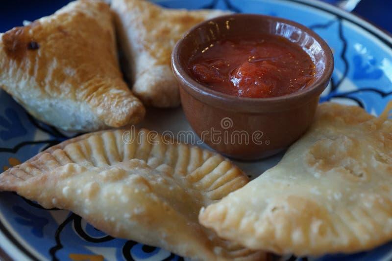 Alimento do Cazaque em um restaurante fotos de stock