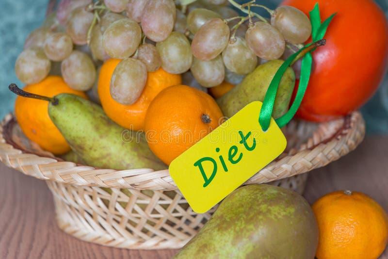 Alimento do fruto da dieta saudável fotografia de stock royalty free