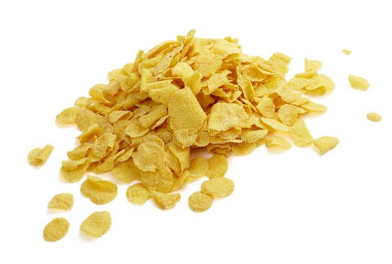 Alimento do muesli dos cereais dos flocos de milho imagens de stock