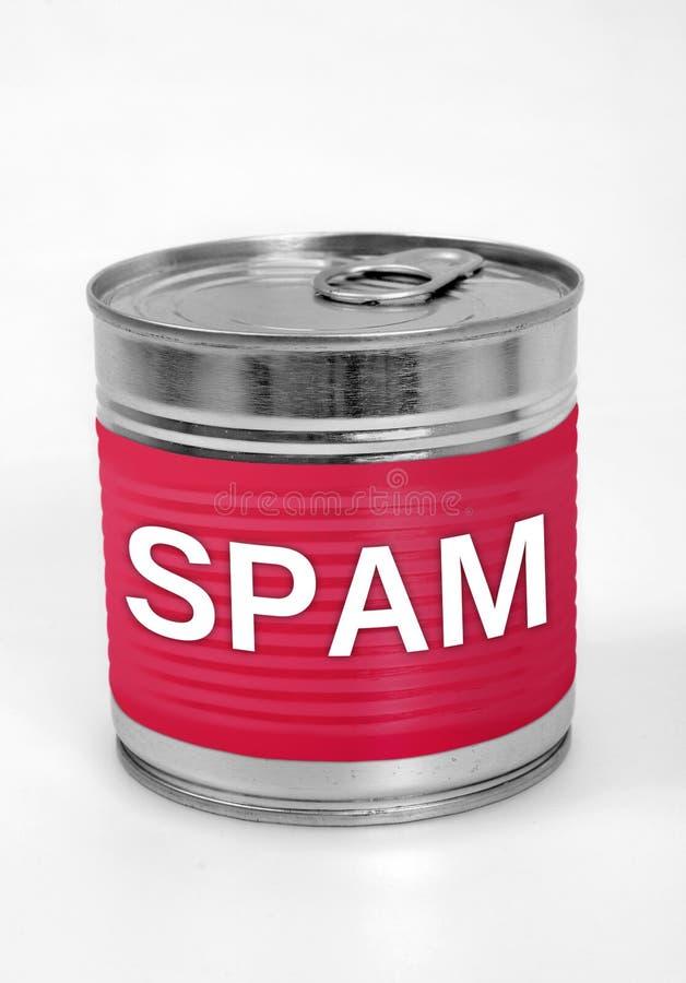 Alimento do Spam fotos de stock royalty free