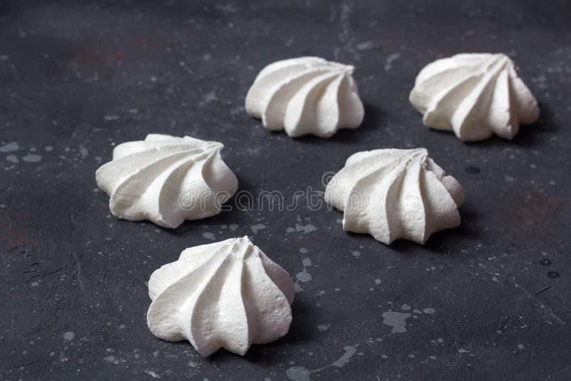 Alimento doce Merengues caseiros deliciosas fotos de stock