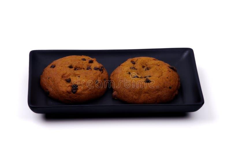 Alimento - due biscotti della zucca fotografie stock