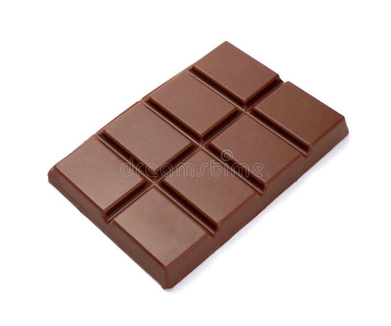 Alimento dulce del azúcar del desseret de la barra de chocolate fotografía de archivo libre de regalías