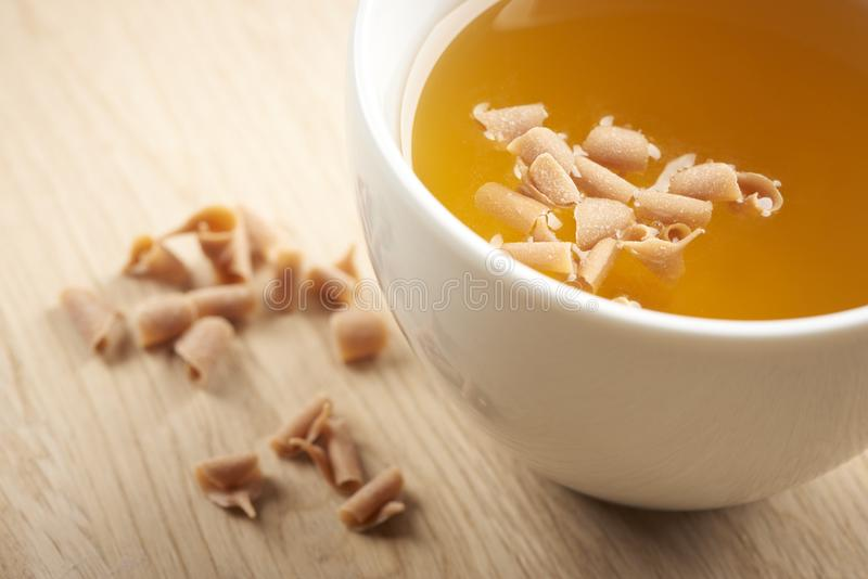 Alimento e chá deliciosos imagem de stock royalty free