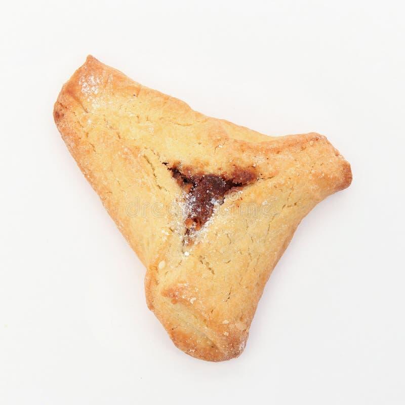 Alimento ebreo Purim Hamantaschen di festa fotografia stock