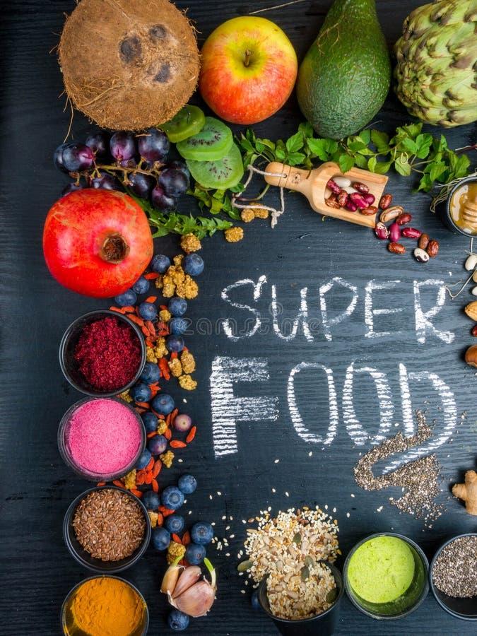 Alimento eccellente, concetto pulito di cibo immagini stock