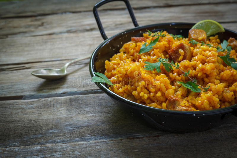 Alimento espanhol imagem de stock royalty free