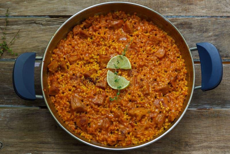Alimento espanhol fotografia de stock