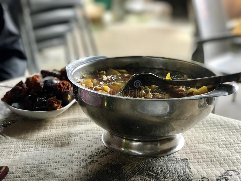 Alimento espanhol t?pico fotos de stock