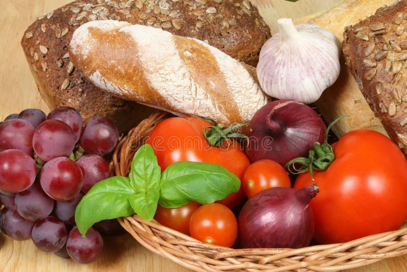Alimento europeo imagen de archivo
