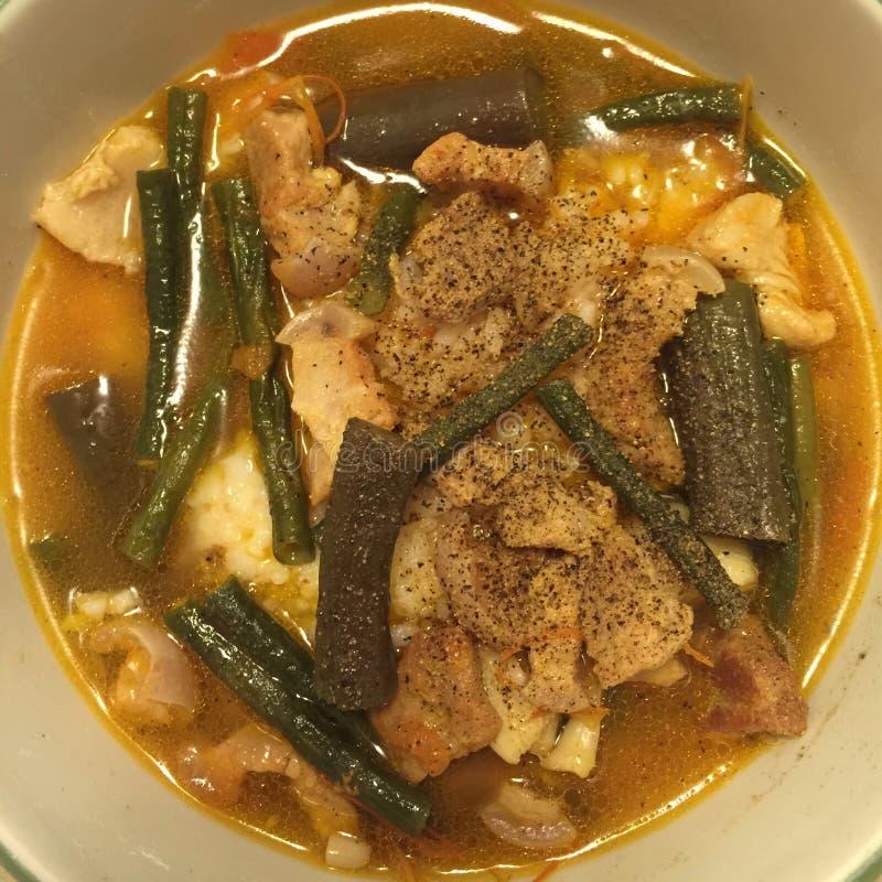 Alimento filippino immagini stock