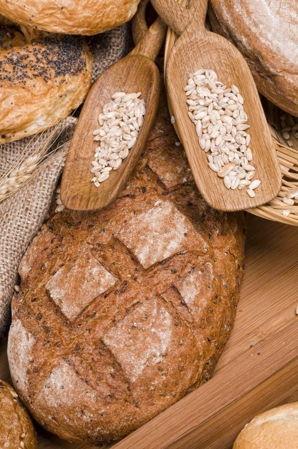 Alimento fresco do pão foto de stock