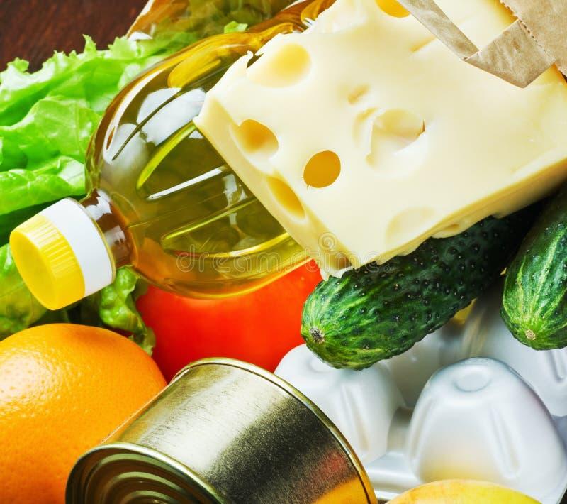 Alimento fresco para la salud imagen de archivo libre de regalías