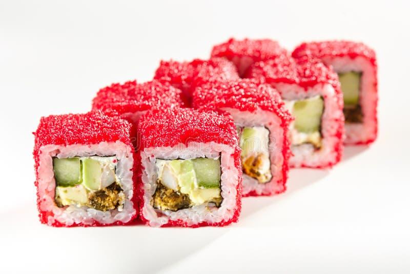 Alimento giapponese dei sushi immagini stock libere da diritti