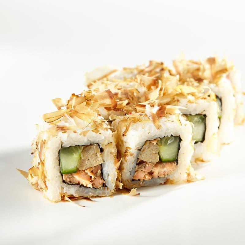 Alimento giapponese dei sushi fotografia stock libera da diritti