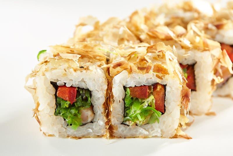 Alimento giapponese dei sushi immagini stock
