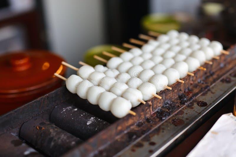 Alimento giapponese della via immagini stock libere da diritti