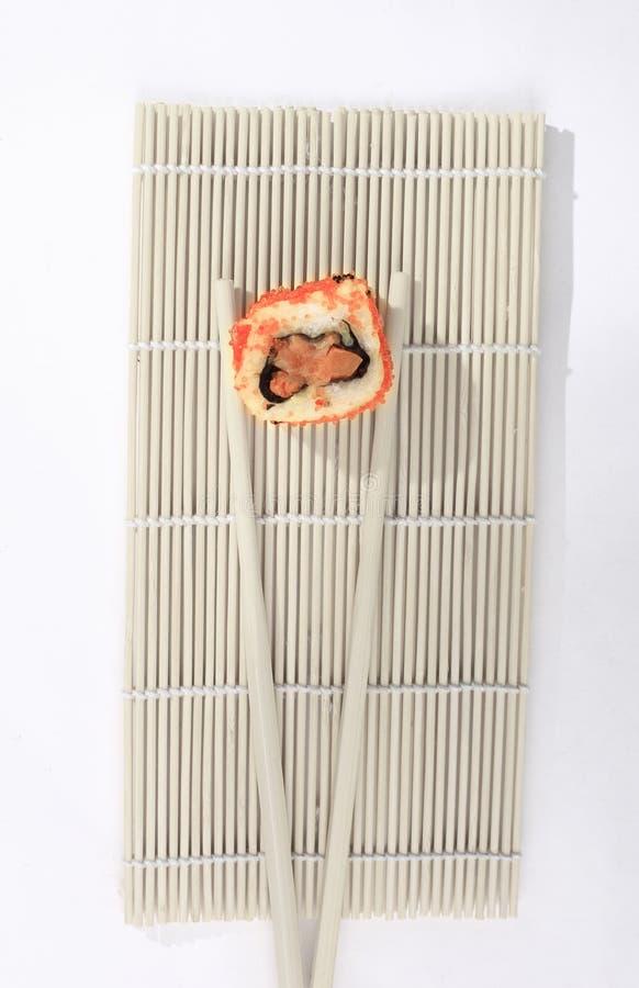 Alimento giapponese tradizionale, sushi fotografie stock libere da diritti