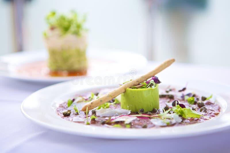 Alimento gourmet fotos de stock