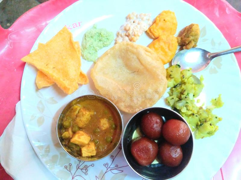 Alimento indiano imagem de stock royalty free