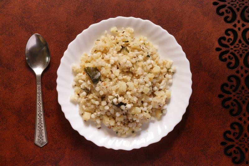 Alimento indiano per i giorni di digiuno immagini stock