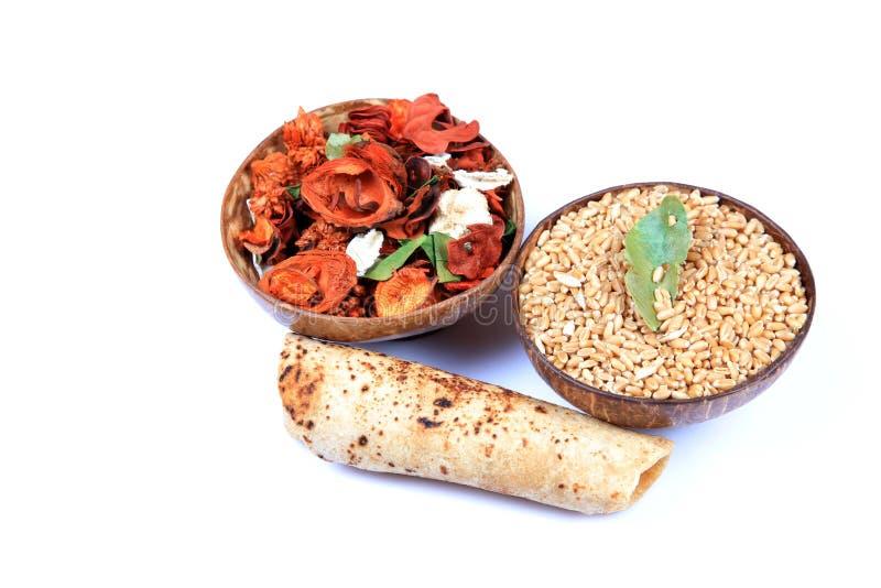 Alimento indiano santo fotografia stock libera da diritti