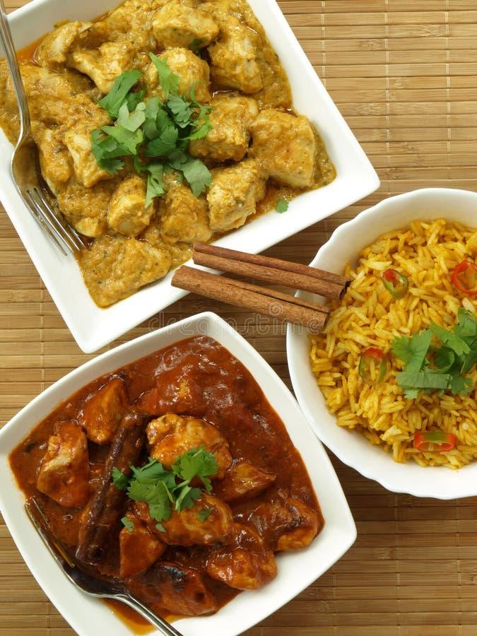 Alimento indio imagen de archivo