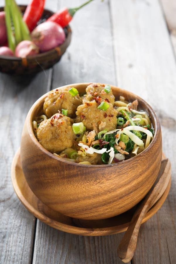 Alimento indonesiano immagini stock