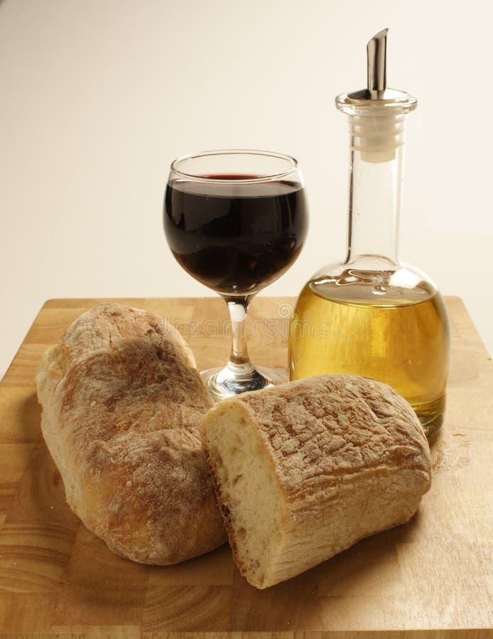 Alimento italiano immagini stock libere da diritti