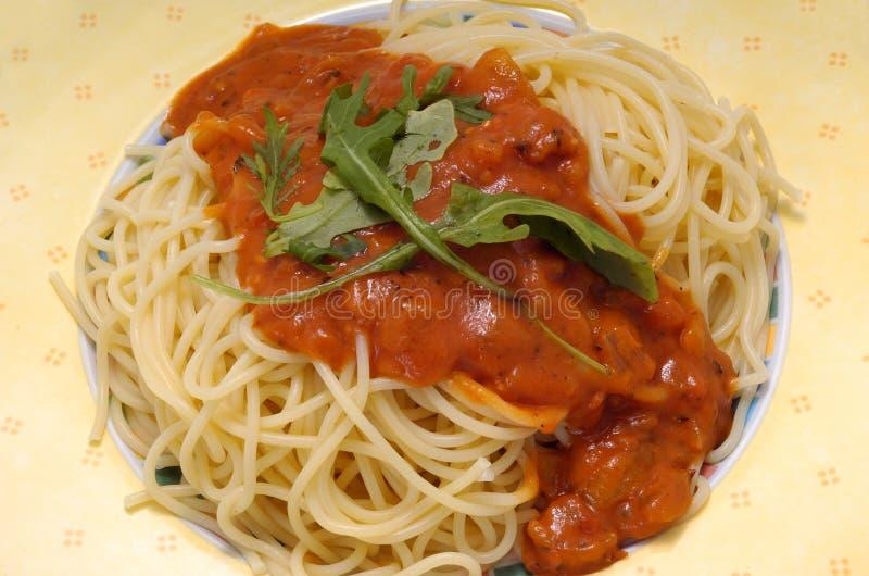 Alimento italiano de las pastas imagen de archivo