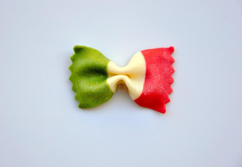 Alimento italiano: pasta fotografie stock
