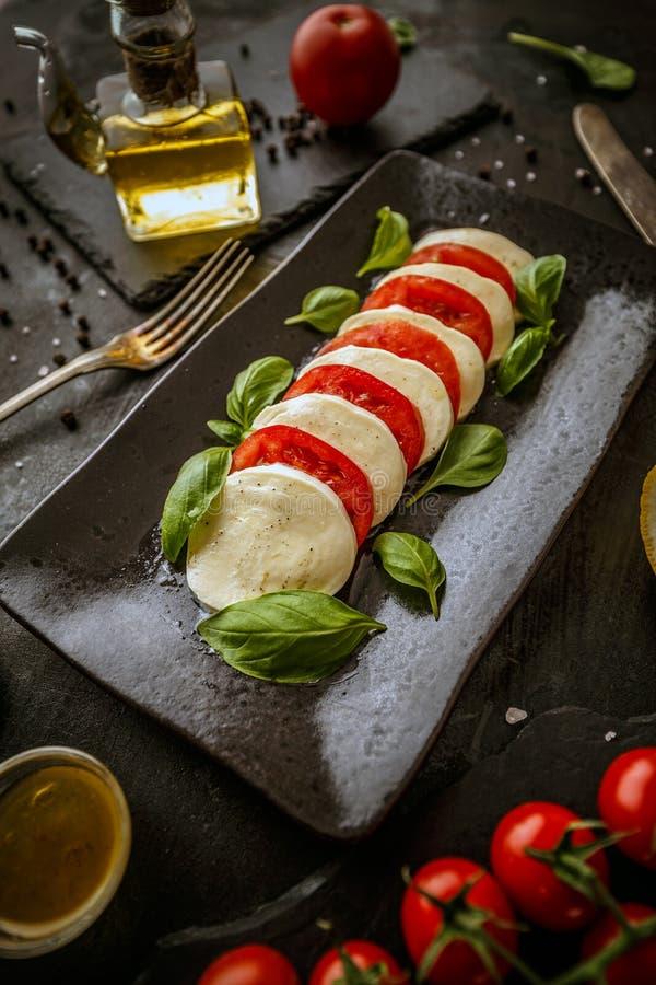 Alimento italiano sano fotografia stock