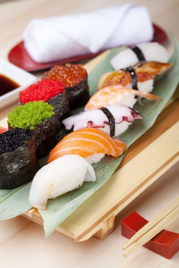 Alimento japonês clássico fotos de stock royalty free