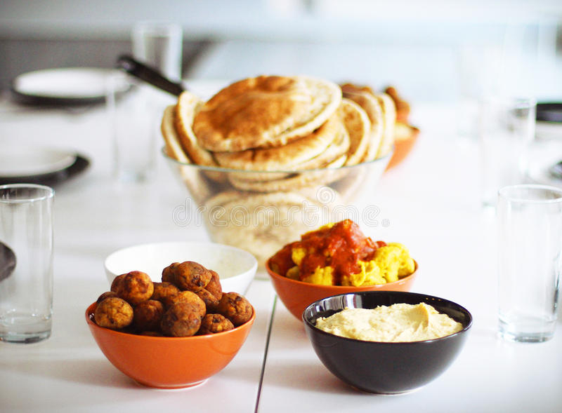 Alimento judaico tradicional: imagens de stock