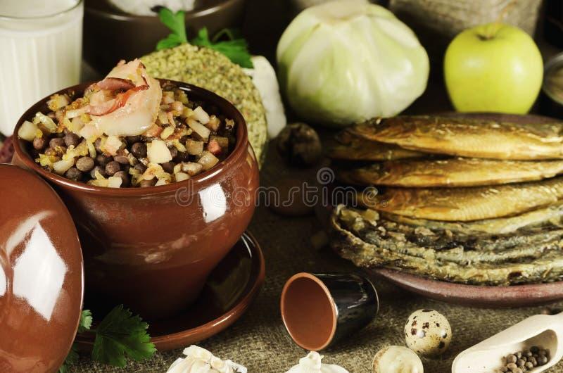 Alimento letão fotografia de stock
